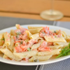 Thumbnail image for Pasta with Smoked Salmon and Cream Cheese Sauce