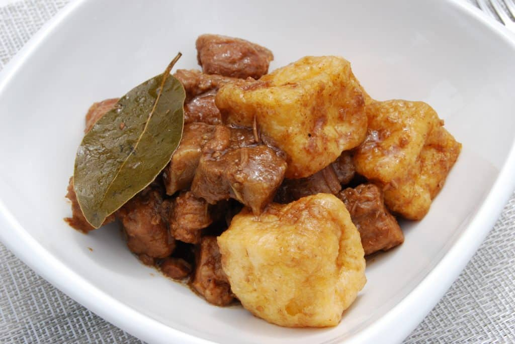 Pork Adobo with Tofu and Oyster Sauce
