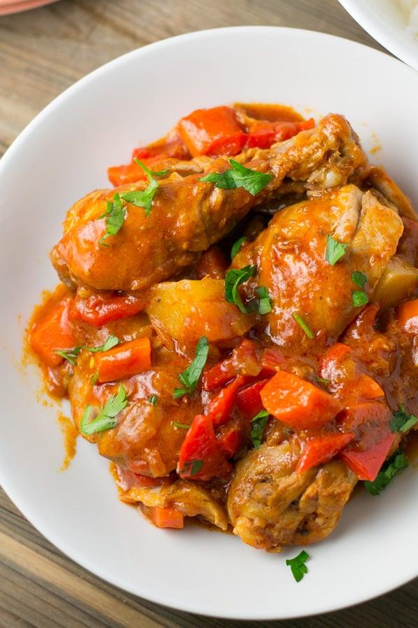Chicken Afritada Salu Salo Recipes