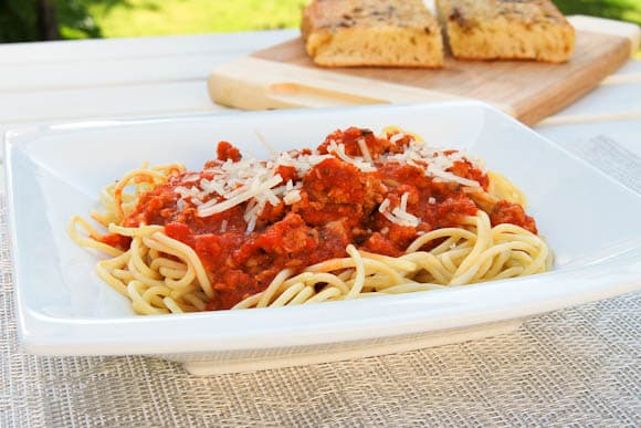 Spaghetti with Marinara Sauce - Salu Salo Recipes