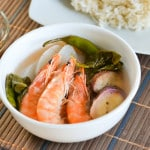 Sinigang na Hipon (Shrimp in Tamarind Soup)