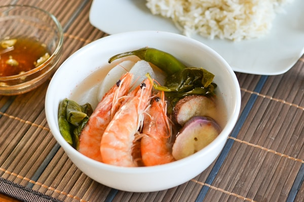 sinigang na hipon is one of the many filipino sinigang recipes it ...