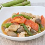 Honey Chicken and Asparagus Stir Fry