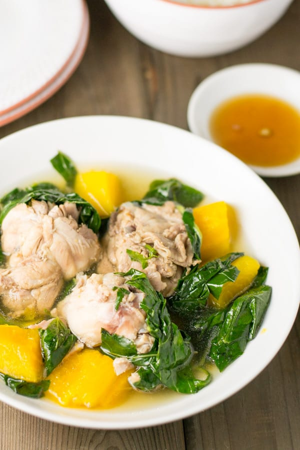 how to cook tinolang manok with sayote and malunggay