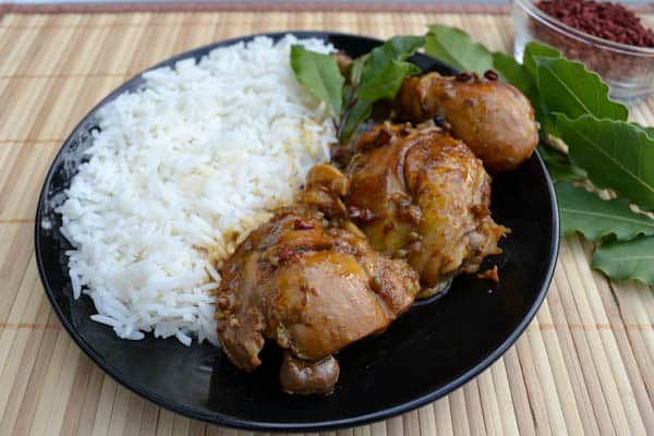 Chicken Adobo (Chicken Cooked In Soy Sauce And Vinegar) Recipes ...