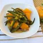 Ginisang Kalabasa at Baguio Beans (Sautéed Squash and Green Beans)