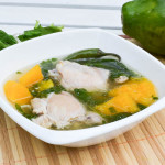 Tinolang Manok (Chicken with Papaya Soup)