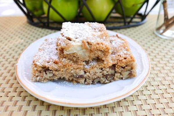 Apple Brownies - Salu Salo Recipes