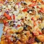 Italian Sausage and Mushroom Pizza