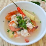 Lemongrass Shrimp Soup (Tom Yum Goong)