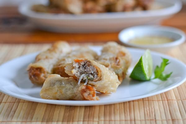with slow cooked pork vietnamese spring rolls with slow cooker pork ...