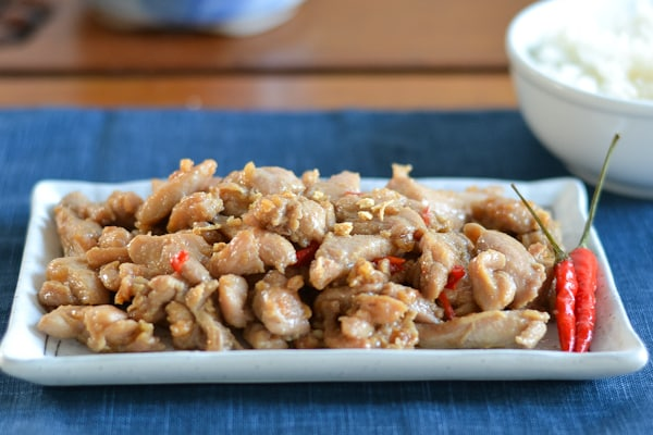 Spicy Garlic Chicken