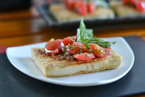 Tofu With Salsa