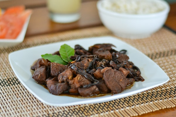 Humba (Filipino Braised Pork with Black Beans) - Salu Salo ...