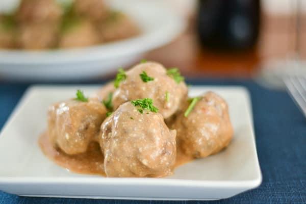 Stroganoff Meatballs