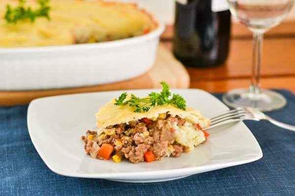 Shepherd's Pie With Buttermilk-Chive Mashed Potato Crust Recipes ...