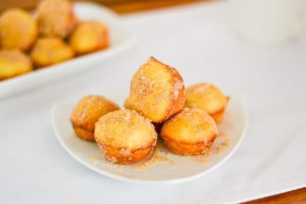 Sugared Mini Muffins