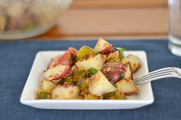 Roasted Potato Bacon Salad