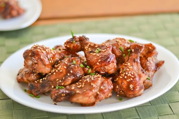 Baked Hoisin Chicken Wings