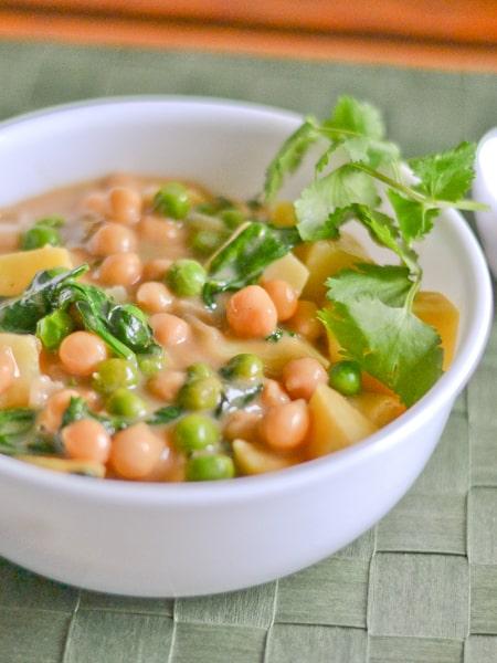 Sweet Potato Chickpea Curry - Salu Salo Recipes