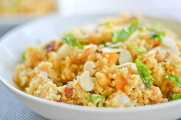 Moroccan Couscous and Chickpeas