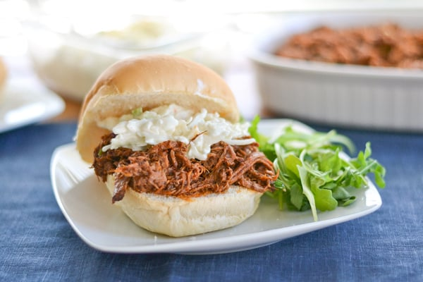 Slow Cooker Pulled Pork Sandwich - Salu Salo Recipes