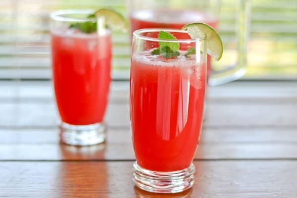 raspberry mint agua fresca cucumber lime mint agua fresca agua de ...