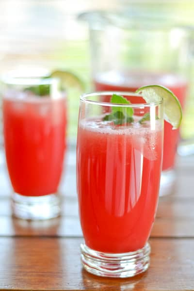 Watermelon Agua Fresca - Salu Salo Recipes