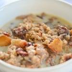 Slow Cooker Apple-Cinnamon Steel-Cut Oatmeal