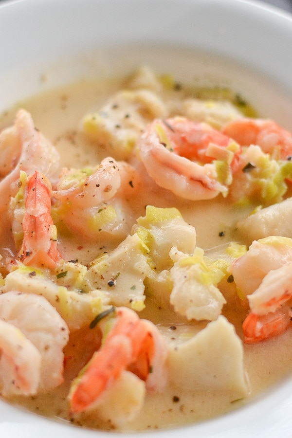 shrimp and fish chowder salu salo recipes