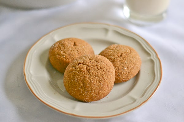 Old-Fashioned Chewy Ginger Cookies - Salu Salo Recipes