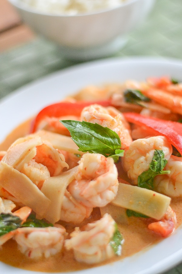 Thai Shrimp Curry - Salu Salo Recipes