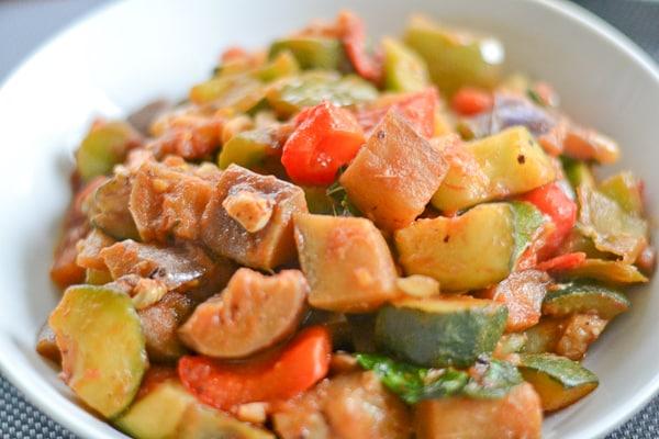 Vegetable Stew (Ratatouille)