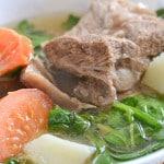 Beef Short Ribs in Lemon Soup