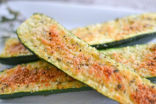 Parmesan Zucchini Bites