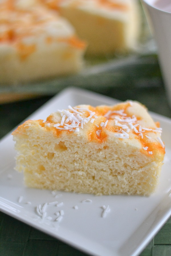 Cheese Puto (Steamed Cake with Cheese)