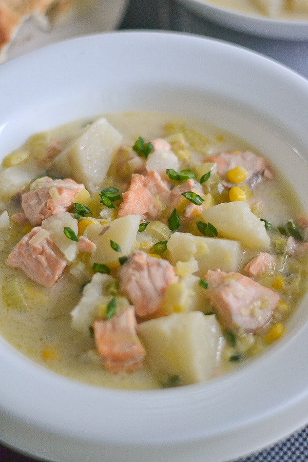 Salmon Chowder - Salu Salo Recipes