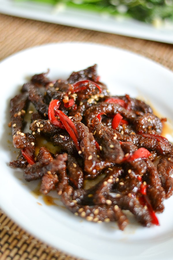 Crispy Beef with Honey and Pepper