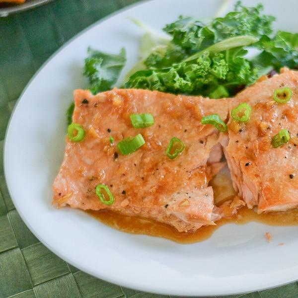 how to cook salmon with teriyaki sauce