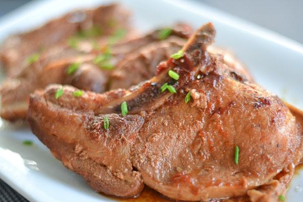 Asian Style Crock Pot Pork Chops