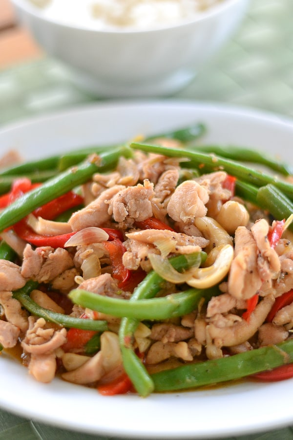 Lemongrass Chicken Stir Fry - Salu Salo Recipes