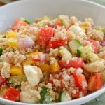 Quinoa Salad with Bocconcini
