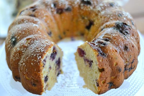 Blueberry Lemon Pound Cake - Salu Salo Recipes