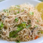 Pancit Bihon Filipino Noodles