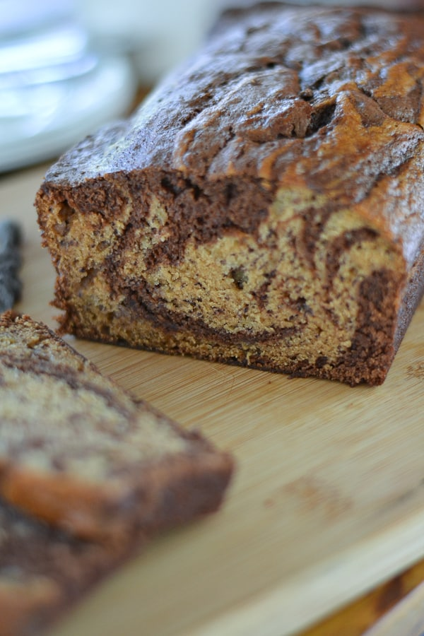 banana bread marbled chocolate banana bread marbled chocolate banana ...