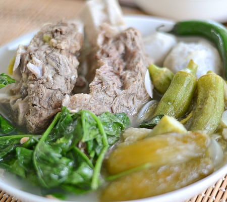 Beef Ribs Sinigang with Kamias (Bilimbi)