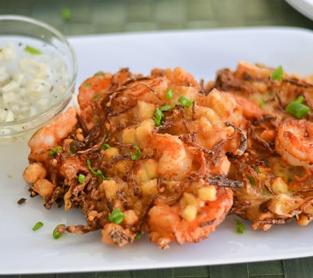 Ukoy (Shrimp and Vegetable Fritters)