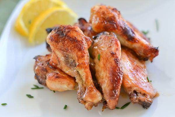 Honey Lemon Chicken Wings - Salu Salo Recipes