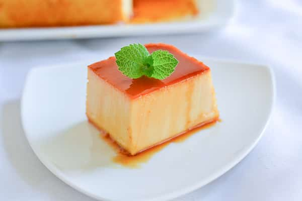 Top 10 Favorite Filipino Desserts - Leche Flan with Cream Cheese