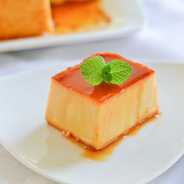 Leche Flan With Cream Cheese Salu Salo Recipes